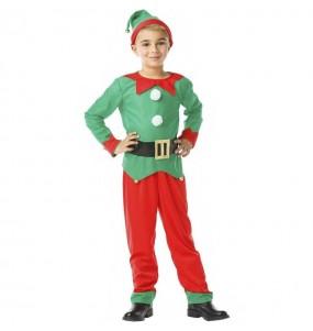 Disfarce Elfo menino para deixar voar a sua imaginação