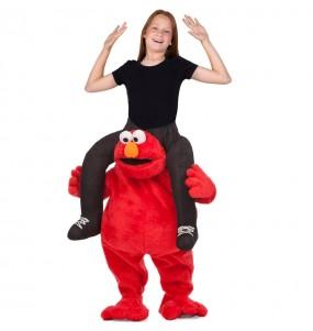 Disfarce Ride On Elmo Rua Sésamo meninos para deixar voar a sua imaginação