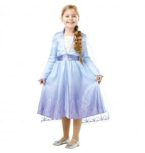 Disfarce Elsa Frozen 2 menina para que eles sejam com quem sempre sonharam