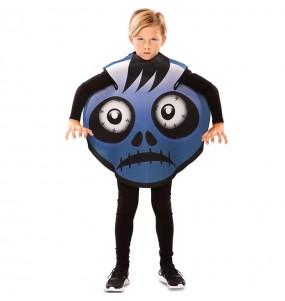 Disfarce Halloween Frankenstein Emoticon meninos para uma festa do terror