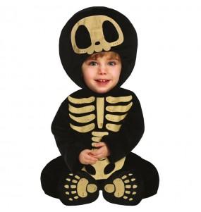Fato de Esqueleto Skull para bebé