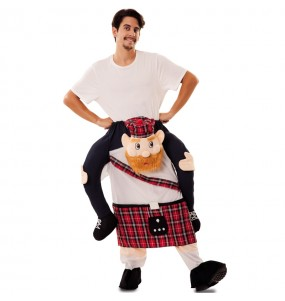 Disfarce Ride On Escocês adulto divertidíssimo para qualquer ocasião