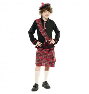 Disfarce Escocês Clássico menino para deixar voar a sua imaginação