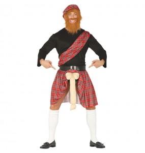 Disfarce Escocês Exibicionista adulto divertidíssimo para qualquer ocasião