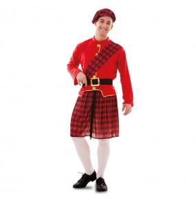 Disfarce Escocês adulto divertidíssimo para qualquer ocasião