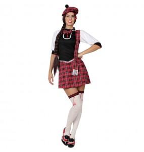 Disfarce original Escocesa sensual mulher ao melhor preço