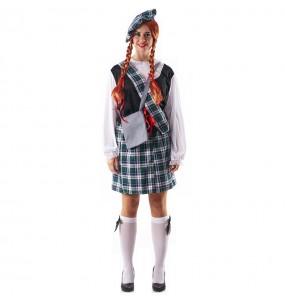 Disfarce original Escocesa Celta mulher ao melhor preço