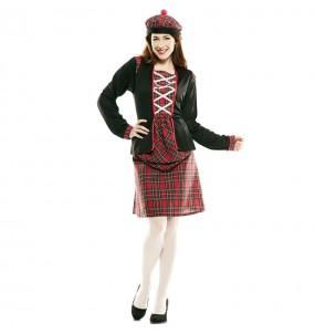 Disfarce original Escocesa Clássica mulher ao melhor preço