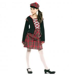 Disfarce Escocesa Clássica menina para que eles sejam com quem sempre sonharam