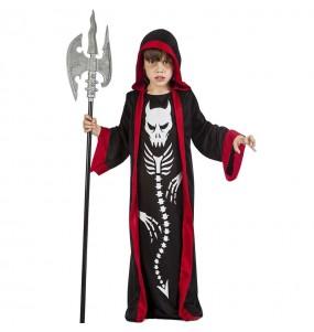 Fato de Esqueleto demoníaco para menino
