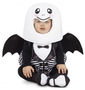 Disfarce Halloween Fantasma balloon com que o teu bebé ficará divertido.