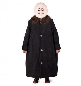 Fato de Tio Fester A Família Addams adulto para a noite de Halloween
