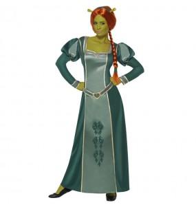 Disfarce original Fiona Shrek Deluxe mulher ao melhor preço