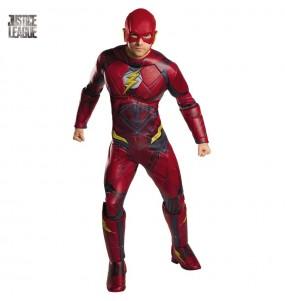 Disfarce Flash Liga da Justiça adulto divertidíssimo para qualquer ocasião