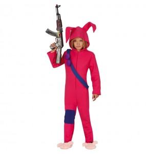 Disfarce Fortnite Rabbit Raider menino para deixar voar a sua imaginação