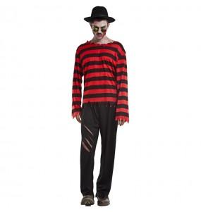Fato de Freddy Krueger Elm street para homem