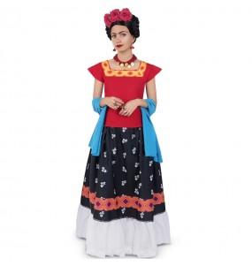 Fato Frida Kahlo para mulher