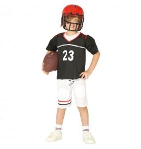 Disfarce Futebol Americano menino para deixar voar a sua imaginação