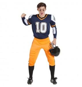 Disfarce Futebol Americano da NFL adulto divertidíssimo para qualquer ocasião
