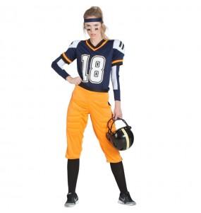 Disfarce original Futebol Americano da NFL mulher ao melhor preço