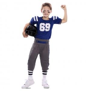 Disfarce Futebol Americano Super Bowl menino para deixar voar a sua imaginação