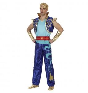 Disfarce Génio de Aladdin adulto divertidíssimo para qualquer ocasião