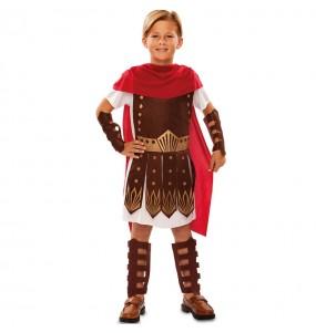 Disfarce Gladiador menino para deixar voar a sua imaginação