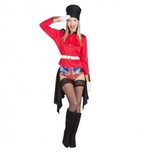 Disfarce original Guarda Real Inglesa Exibicionista mulher ao melhor preço
