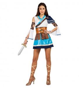 Disfarce original Guerreira Grega mulher ao melhor preço