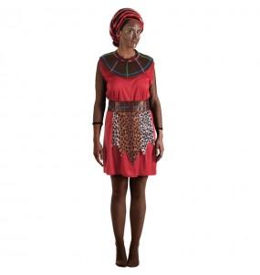 Disfarce original Guerreira Tribo Masai mulher ao melhor preço