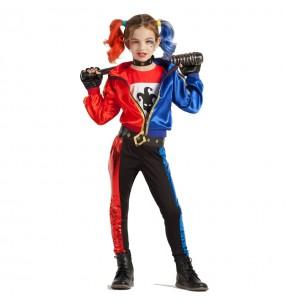 Disfarce Harley Quinn menina para que eles sejam com quem sempre sonharam