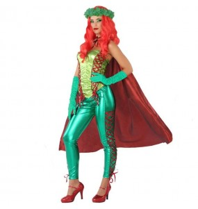 Disfarce original Poison Ivy Vilã mulher mulher ao melhor preço