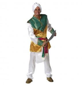 Disfarce Hindu de luxo adulto divertidíssimo para qualquer ocasião