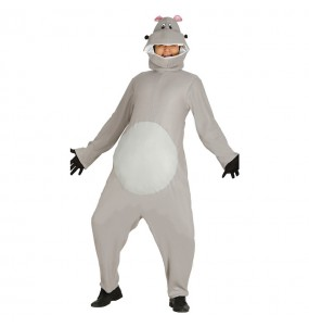 Disfarce Hipopótamo adulto divertidíssimo para qualquer ocasião