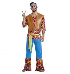 Fato de Hippie Happy para homem