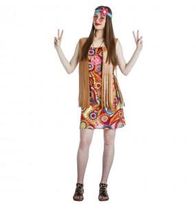 Fato de Hippie Happy para mulher