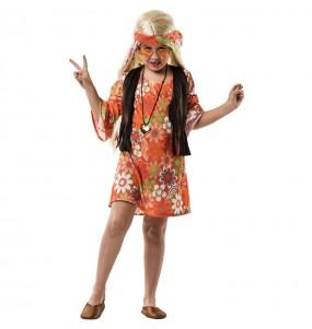 Disfarce Hippie Castanho menina para que eles sejam com quem sempre sonharam