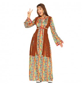 Disfarce original Hippie Peace and Love mulher ao melhor preço