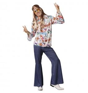 Fato de Hippie Peace para homem