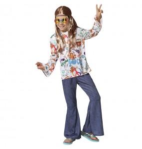 Fato de Hippie Peace para menino
