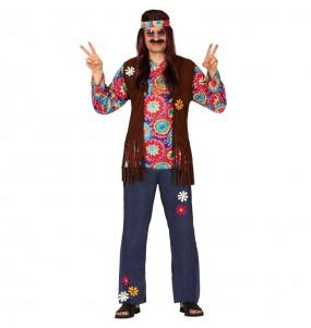Disfarce Hippie Woodstock adulto divertidíssimo para qualquer ocasião
