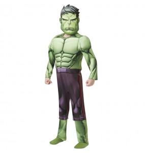 Fato de Hulk Deluxe para menino