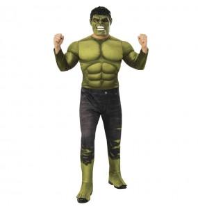 Fato de Hulk Endgame para homem