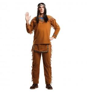 Disfarce Índio Americano adulto divertidíssimo para qualquer ocasião