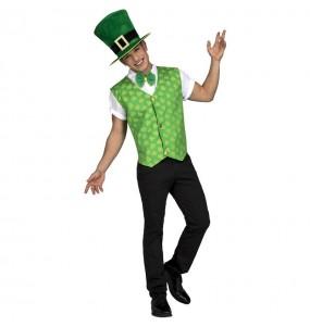 Disfarce Irlandês Saint Patrick adulto divertidíssimo para qualquer ocasião