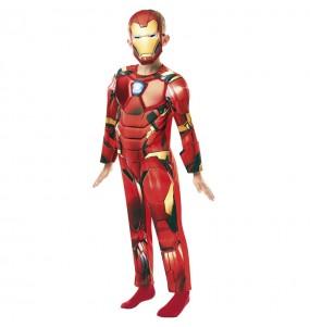 Fato de Iron Man Deluxe para menino