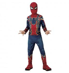 Disfarce Iron Spider The Avengers menino para deixar voar a sua imagina??o