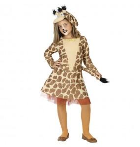 Disfarce Girafa menina para que eles sejam com quem sempre sonharam