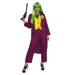 Fato de Joker Arkham para mulher