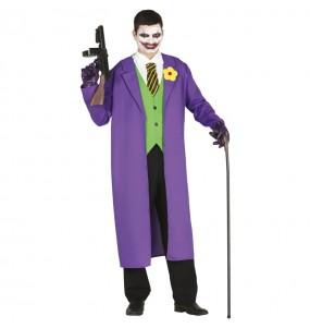 Disfarce Joker Batman adulto divertidíssimo para qualquer ocasião